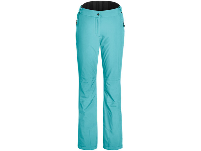 Maier Sports Vroni Slim Pantalon Stretch mTex Femme, blue curacao
